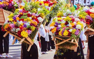 טיול לקולומביה ופסטיבל הפרחים במדיין