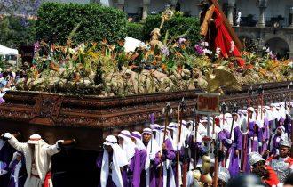 טיול לגואטמלה ומקסיקו - בחגיגות הסמנה סנטה