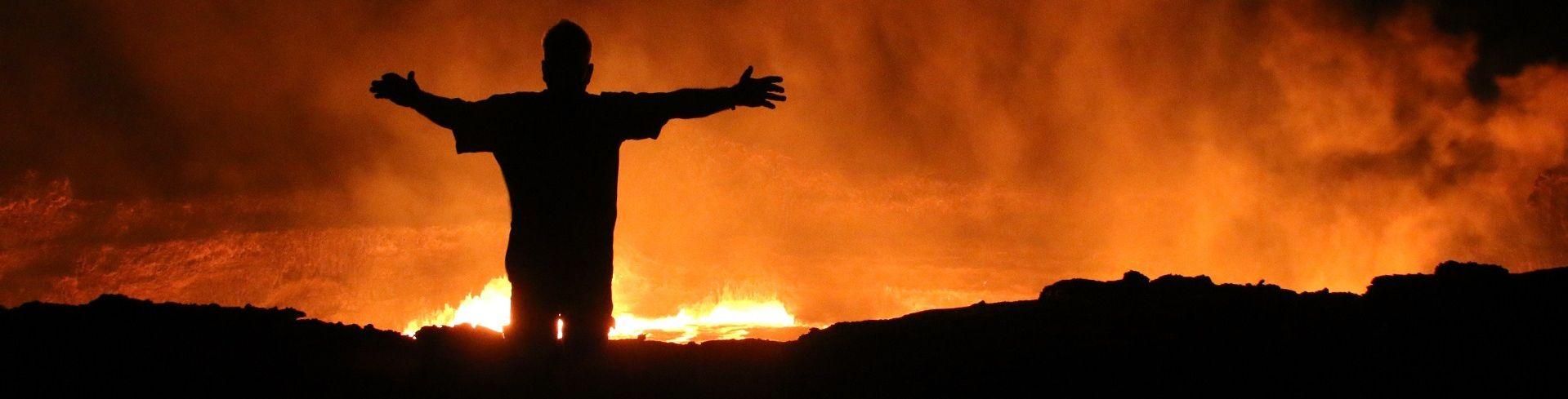 טיול לאתיופיה - אל מדבר דנקיל
