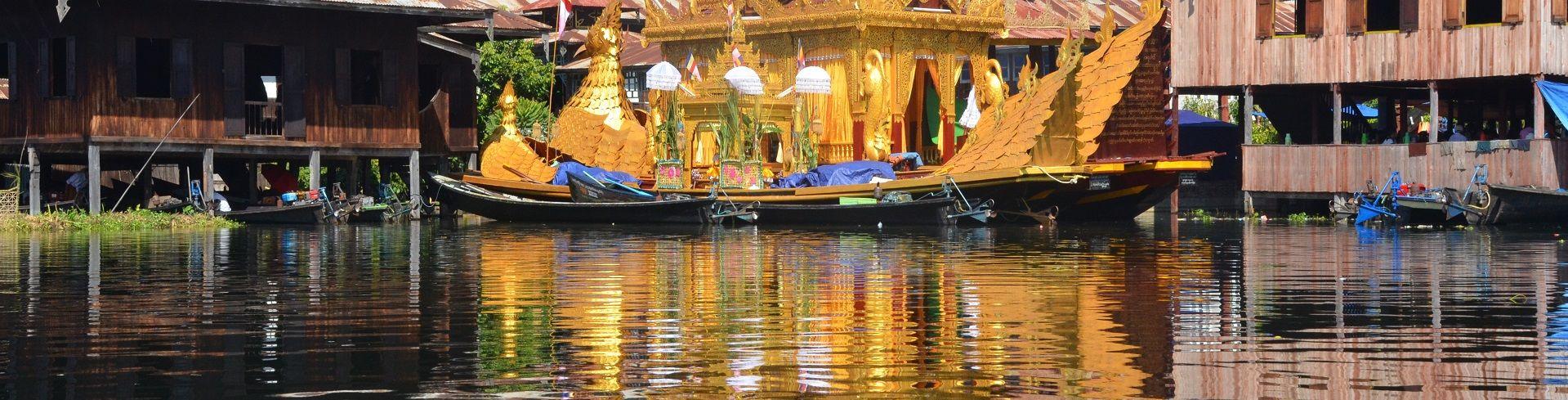 טיול לבורמה בפסטיבל אגם אינלה