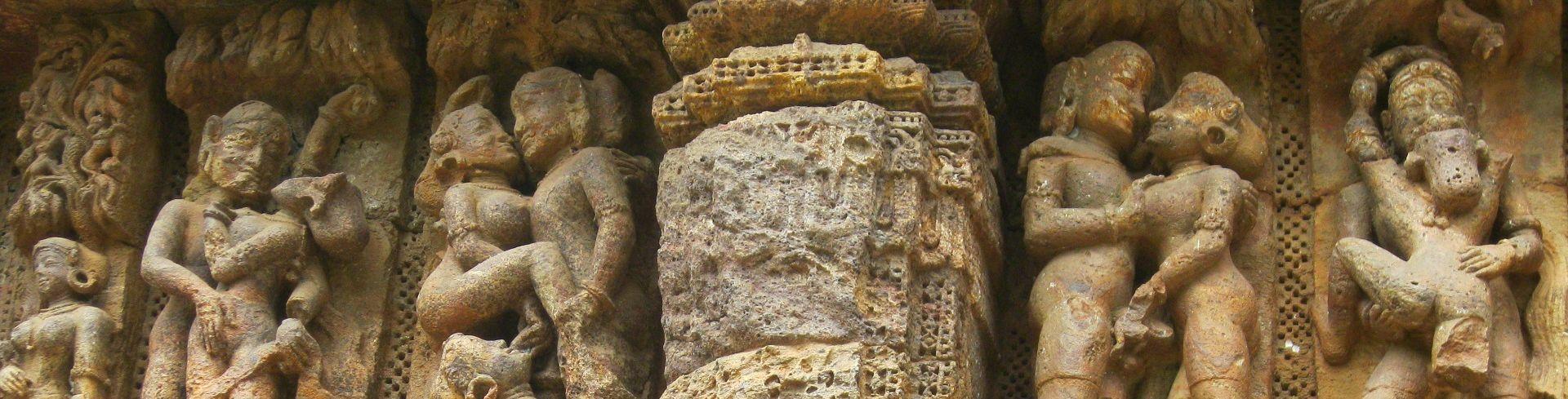 הודו - המקדשים הארוטיים בקהג'ורהו