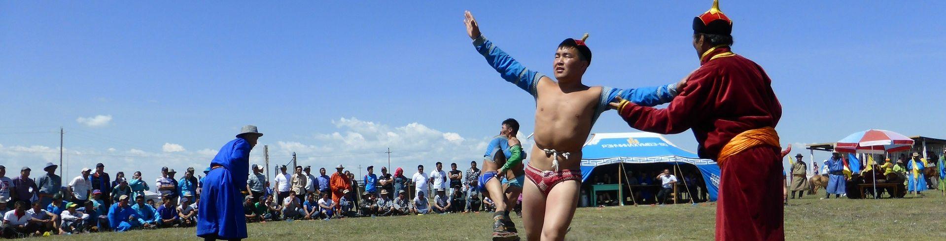 פסטיבל נאדם במונגוליה