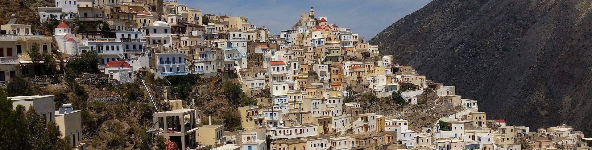 טרק ביוון חוצה האי קרפטוס והאי סריה