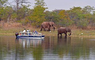 טיול שייט בנהר הזמבזי וספארי בזימבבואה