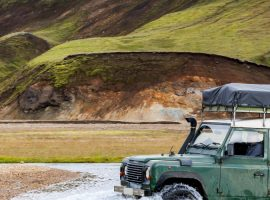 טיול ג'יפים לאיסלנד